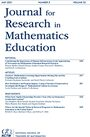 Cover Journal for Research in Mathematics Education